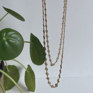Stella & Dot | Gold chain layering necklace